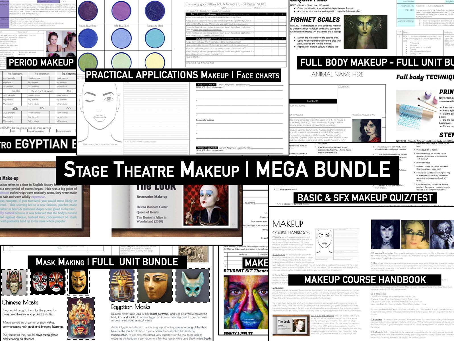 Makeup STAGE THEATRE | Mega Bundle