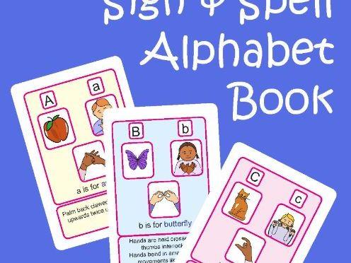 Auslan Sign & Spell ABC Alphabet Resource
