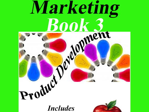 Marketing Book 3 > Product Development = Includes Lesson, Activity & Assessment!