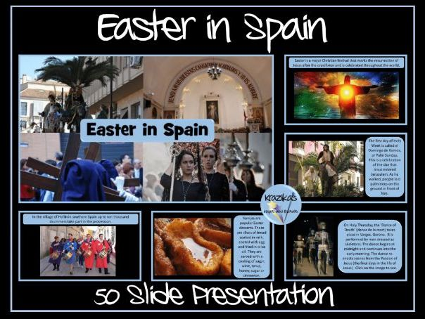 Easter in Spain/Pascua/Semana Santa