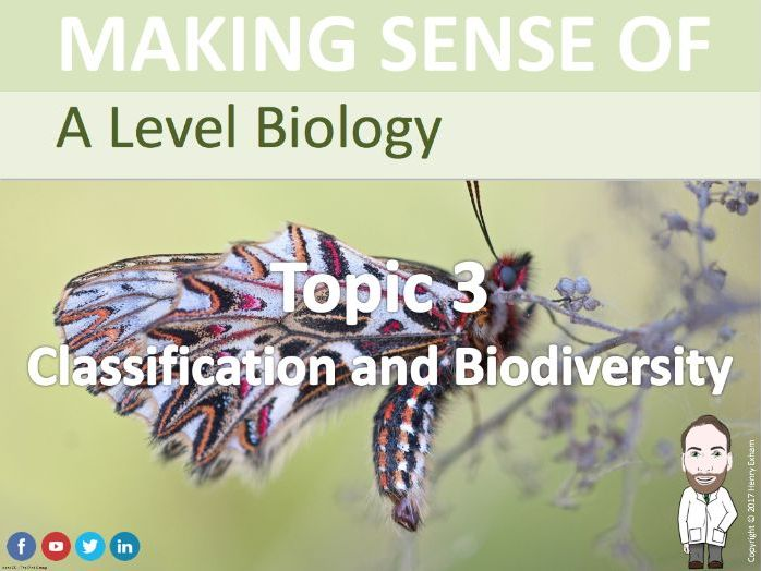 A Level Biology - Classification and Biodiversity Presentation