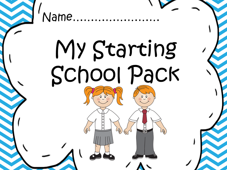 Starting School Take Home Pack