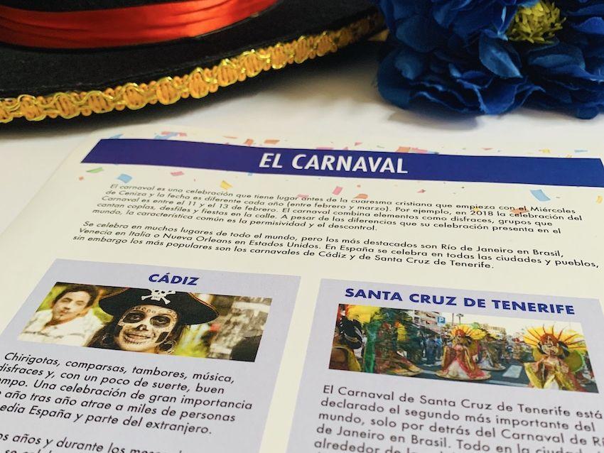 Carnaval en España - GCSE