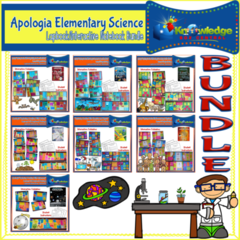 Apologia Elementary Science Lapbook BUNDLE - 855 pages