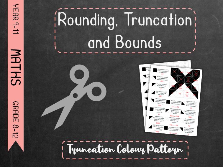 Rounding Truncation and Bounds - Truncation Colour Pattern