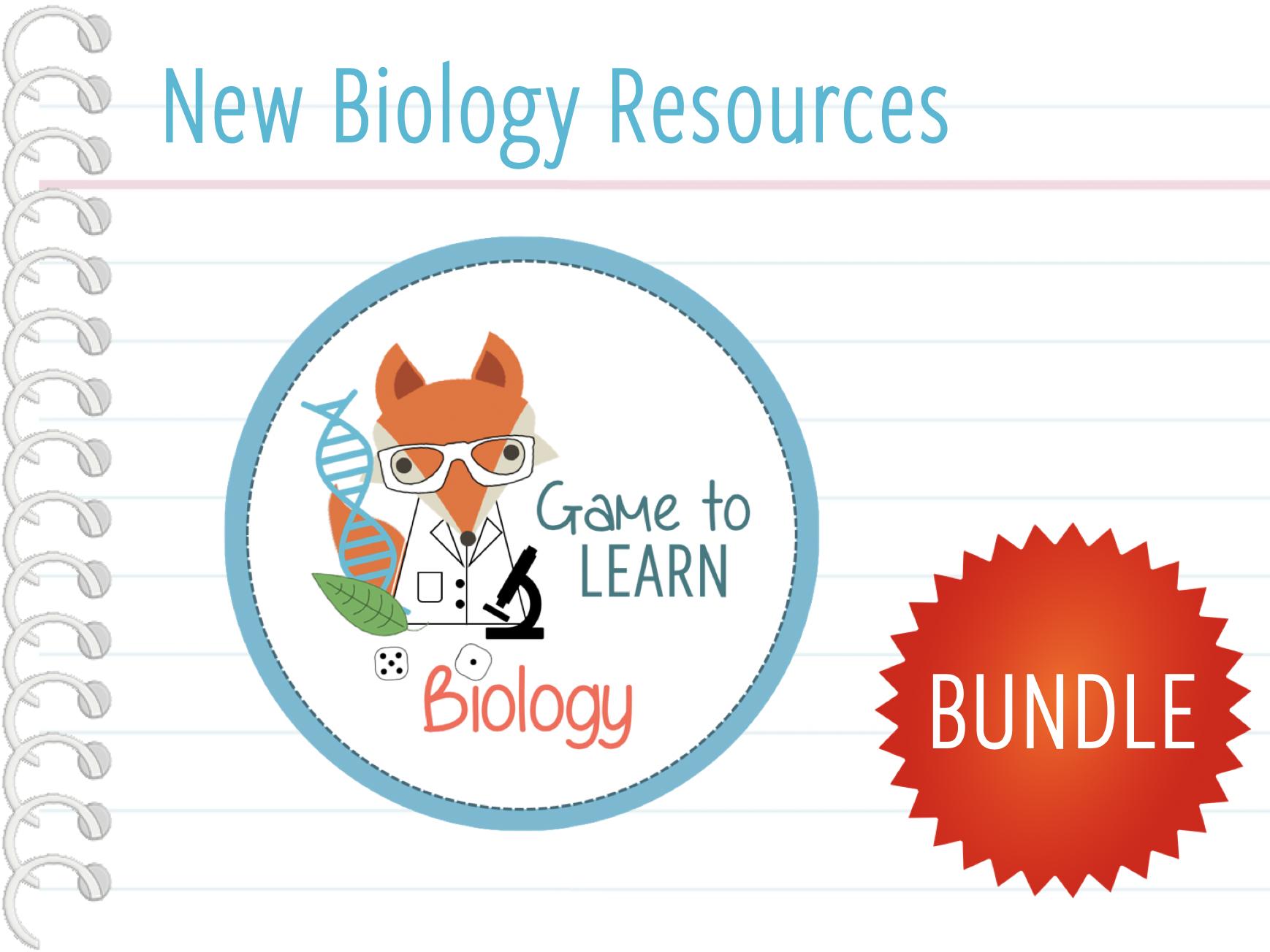 New Biology Resources Bundle