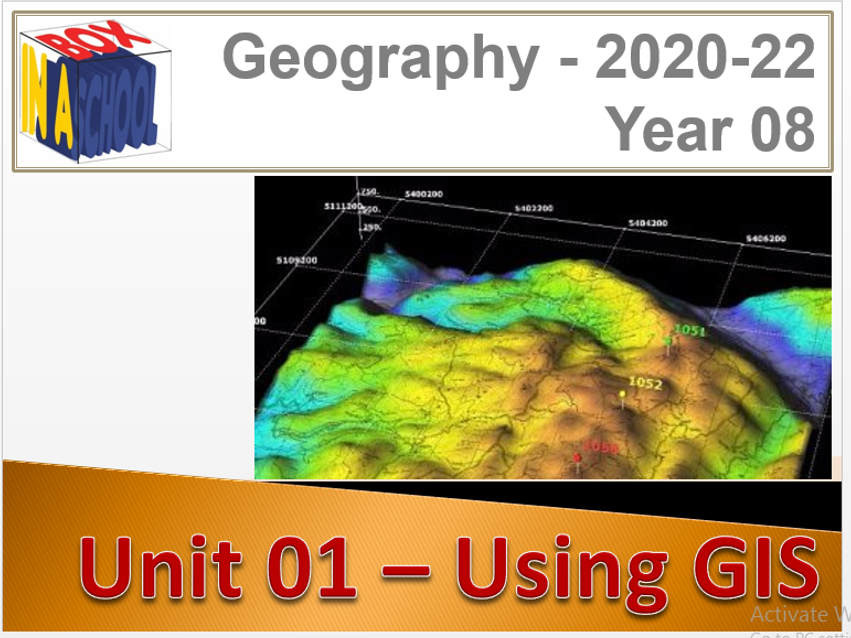 KS3 - Geography - Year 08 - All Units for year - 8 PPTS, Delivery Materials and Videos