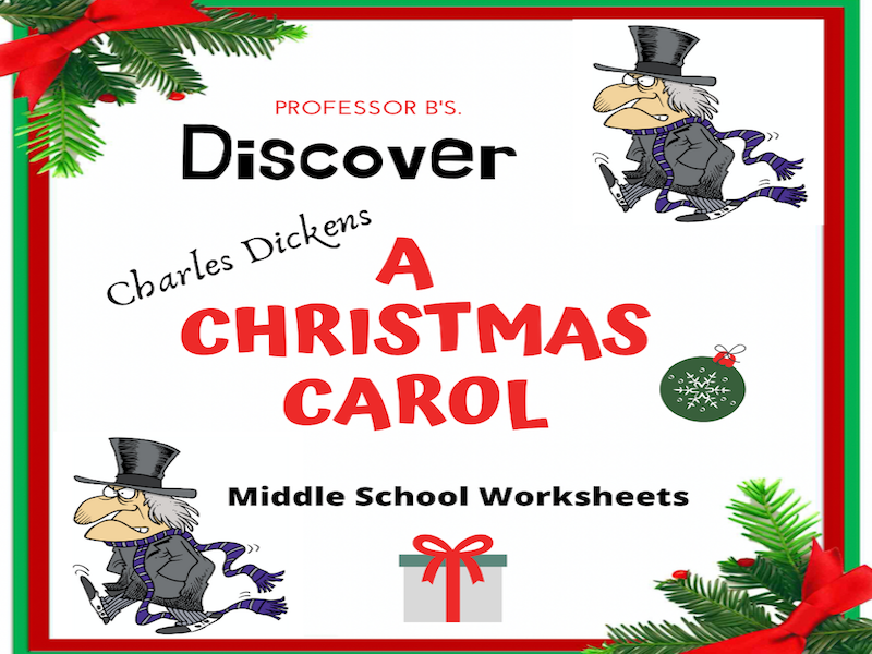 Discover A Christmas Carol! Worksheets