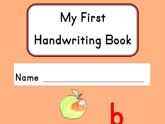 My First Handwriting Book - Learn Initial Sounds and Letter Formation Together!