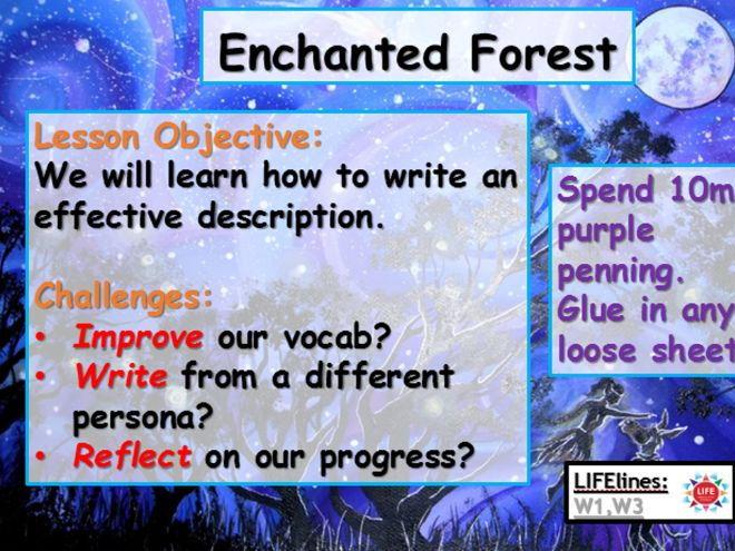 A Midsummer Night's Dream - Enchanted Forest Description