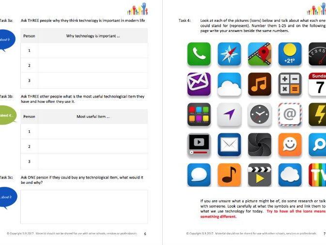 LITERACY - EXPLORE IT (3) - TECHNOLOGY & APPS - student workbooklet