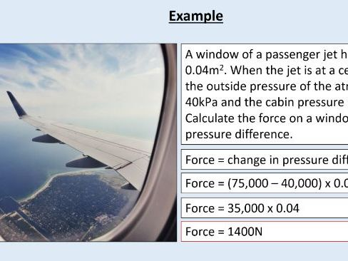 GCSE Physics (4.5.5.1.3) Forces - Atmospheric pressure (AQA)