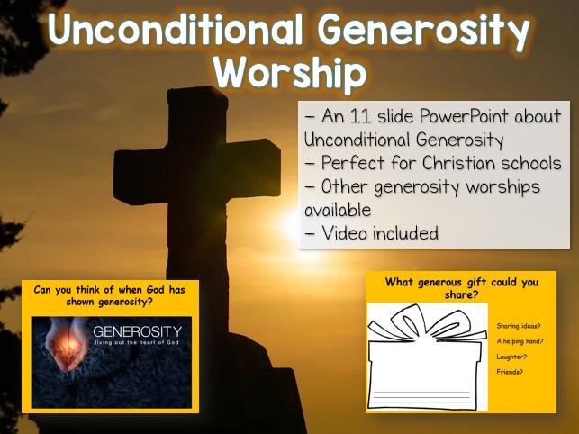 Unconditional Generosity Worship