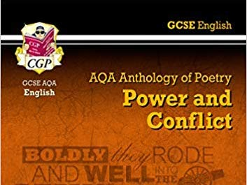 GCSE english lit power and conflict poetry revision notes