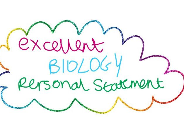 PERSONAL STATEMENT EXAMPLE BIOLOGY