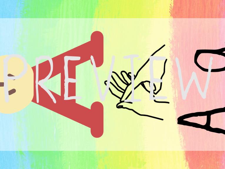 Rainbow British Sign Language BSL alphabet cards/display