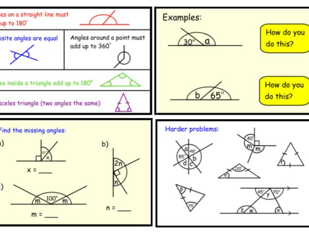 Angle Rules (pdf)