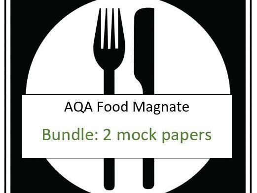 AQA - Food Magnate (Short Mock 1 & 2) Computer Science