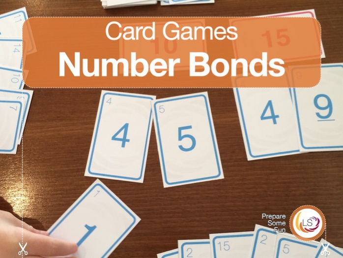 Number Bonds and Sums | Competitive Card Game for Addition and Number Bonds