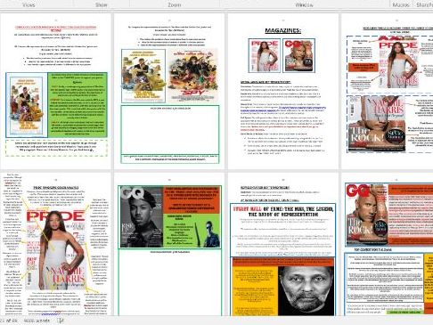 GCSE EDUQAS MEDIA, COMPONENT 1 REVISION GUIDE (ALL FORMS COVERED IN BOTH SECTION A AND B)