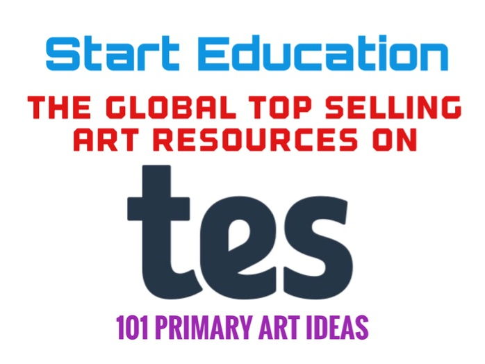 101 Amazing Ideas for Primary School Art Lessons