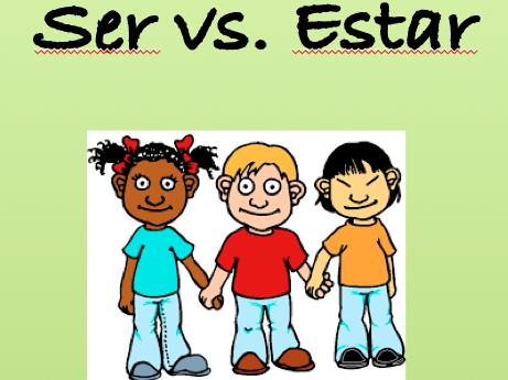 Spanish Lesson on Ser vs. Estar