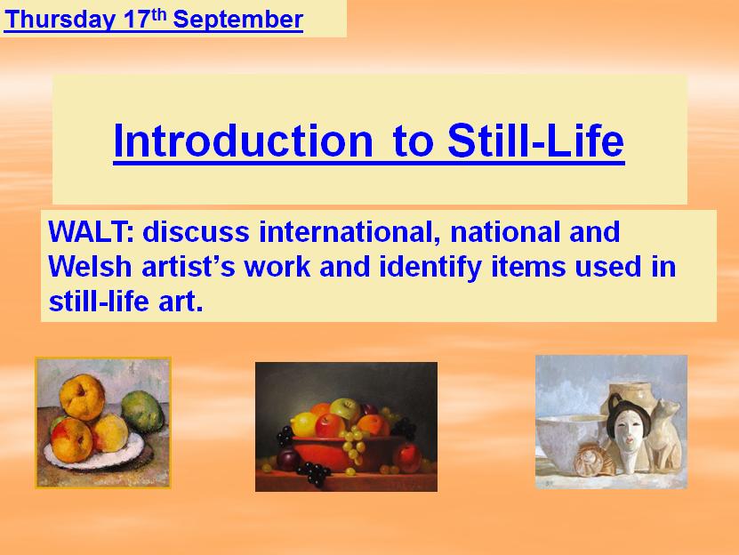 Art ~ Still Life ~ Paul Cezanne ~ A Complete Unit of Work
