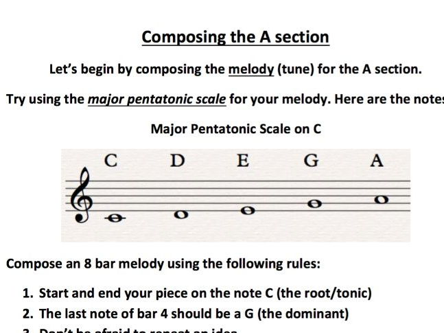 Composing in Ternary Form