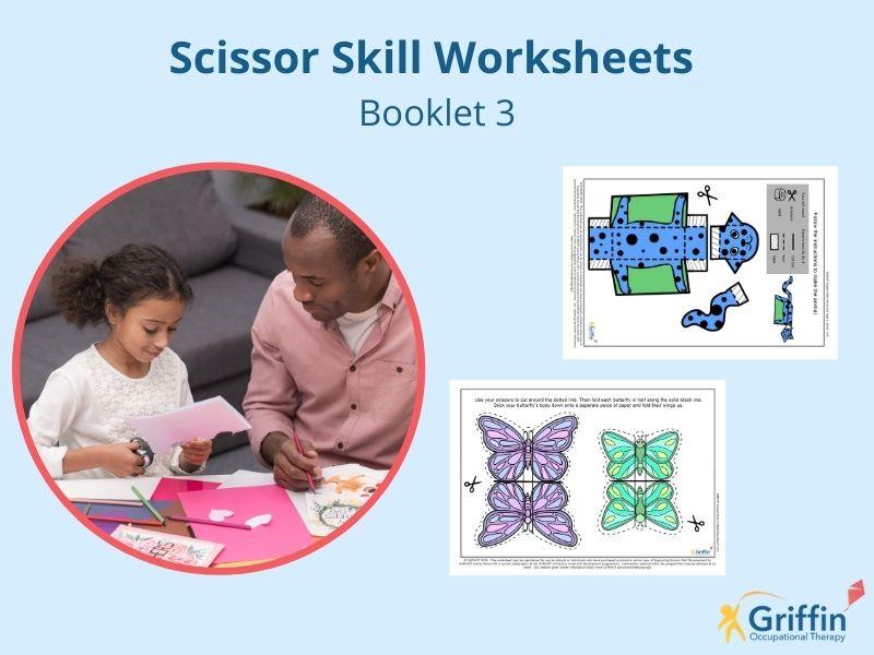 Cutting & Scissor Skills Booklet 3 GriffinOT
