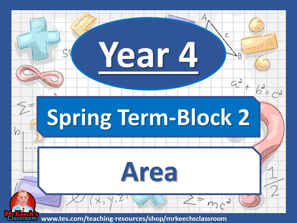 Year 4 Area Spring Block 2 White Rose Maths