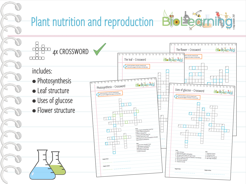 Plant nutrition and reproduction 4x crosswords ks3ks4 by plant nutrition and reproduction 4x crosswords ks3ks4 by anjacschmidt teaching resources tes ccuart Images