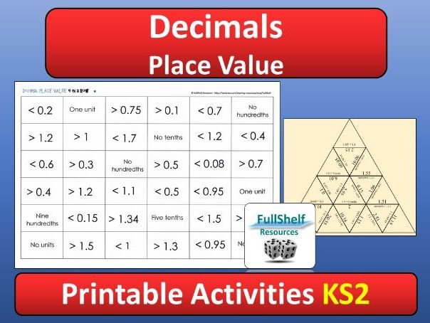 place value decimals by fullshelf teaching resources tes. Black Bedroom Furniture Sets. Home Design Ideas