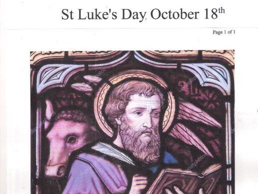 Luke the Evangelist, October 18th