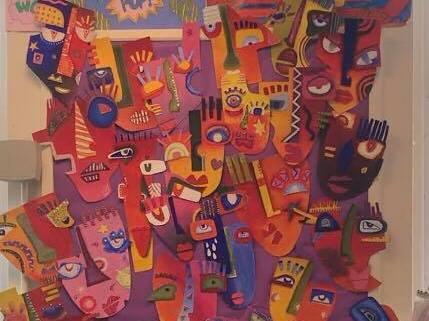 Cubist Masks Complete SOL, Lessons, Handouts & Homework