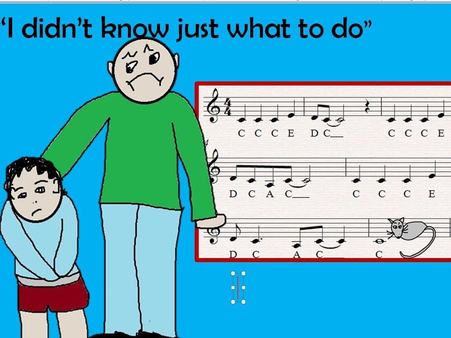 Anti bullying song with riff to play for extension. Video, PPT, MP3, chords