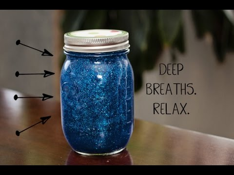 Mindfulness Glitter Jar Instructions By Silverbirch