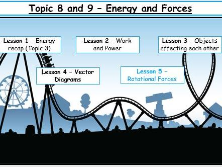 Edexcel 9-1 Physics topics 8 & 9 (Energy and Forces) for Combined and Seperate Science 2018