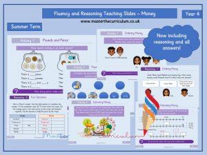 Year 4 - Editable Money Teaching Slides - White Rose Style