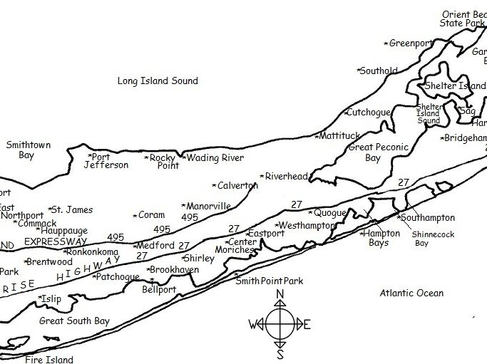 Suffolk County New York Map.Suffolk County New York By Tspeelman Teaching Resources Tes
