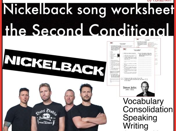 Second conditional revision. Song.