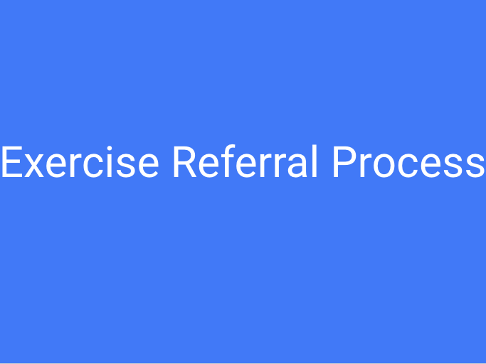 BTEC L3 Unit 16 (Exercise Referral Process)