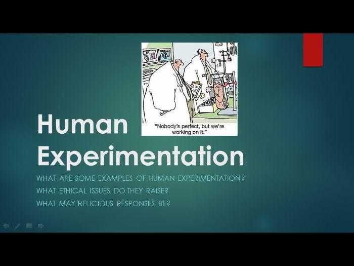 Medical Ethics 7: Human Experimentation