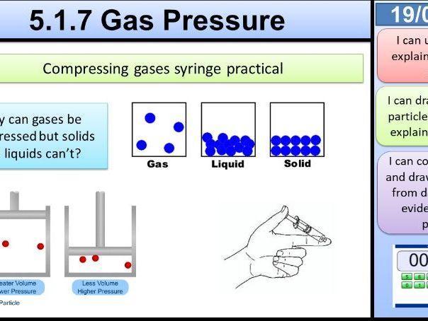 Gas Pressure KS3 Activate