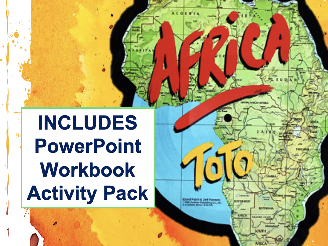 AFRICA - TOTO  - Eduqas GCSE Music - Ppt with detailed analysis, workbook and activity pack