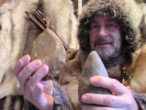 Stone Age Tools - Hand Axe (Biface) - video