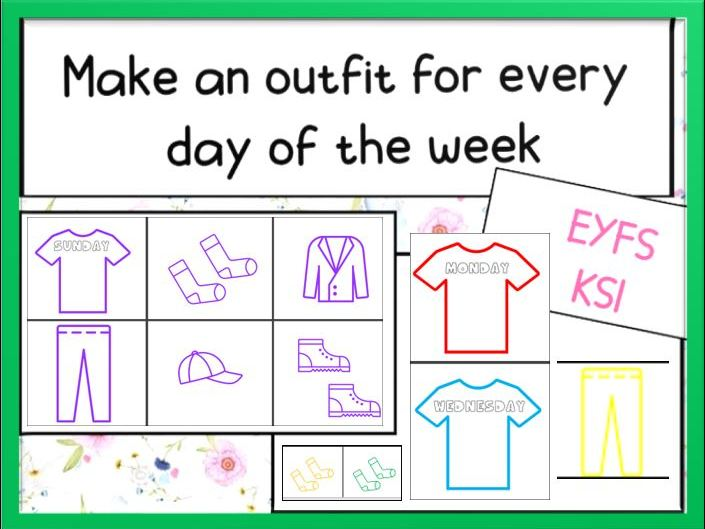 Make an Outfit for Every Day of the Week