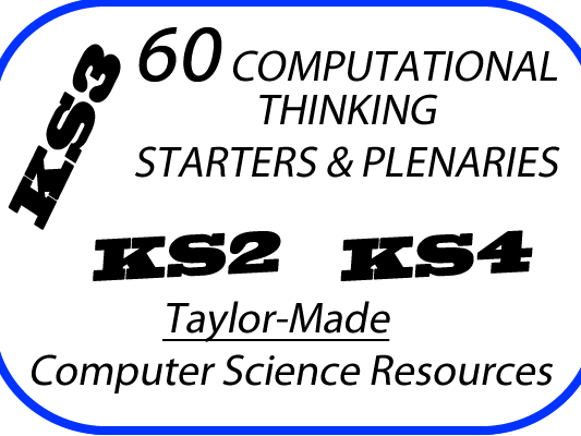 Computational thinking starters and plenaries