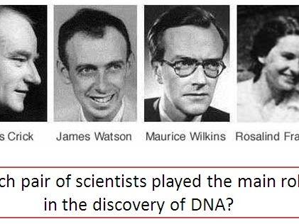 Discovery of DNA AQA GCSE Biology foundation