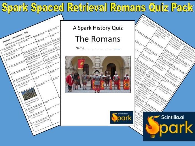 Spark History Quiz - The Romans in Britain