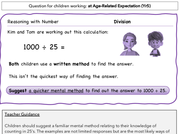 Year 5 Maths: Reasoning with Division